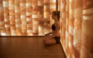 Wellness pod infrared sauna and salt room in Kimberley BC
