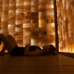 infrared salt sauna relaxes you to the core